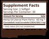 Plus CBD Softgel Capsules 30ct 5mg Raw Formula image number null