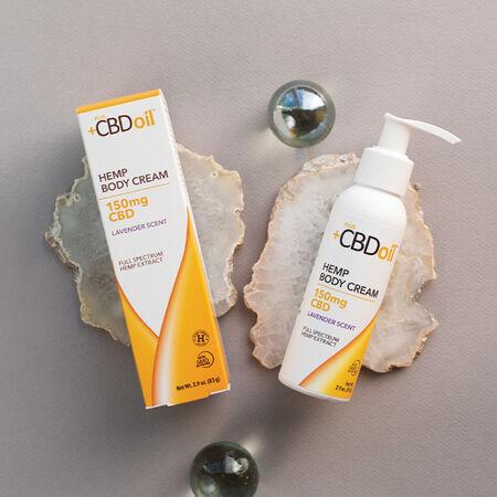 Plus CBD Cream 150mg Lavender image number null