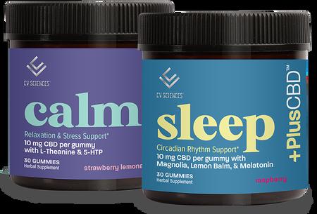 CBD SLEEP & CALM GUMMIES BUNDLE
